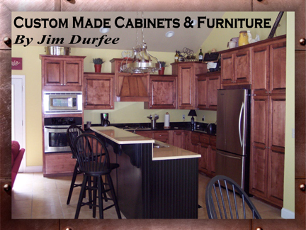 Durfee Custom Cabinets, Inc., 3287 Highway 515 E., Ste-B, Blairsville, Georgia, 30512